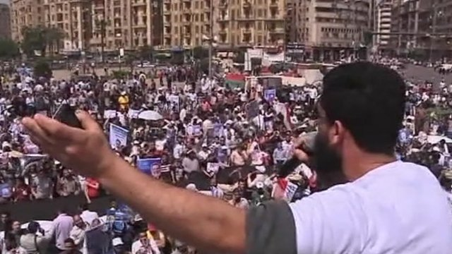 Campaigning in Cairo