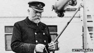 The Titanic's Captain Edward Smith