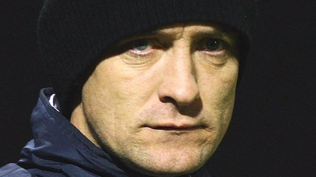 Barrow manager Dave Bayliss