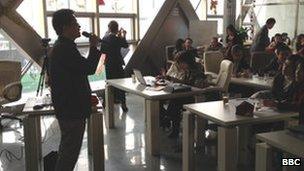 Gold seminar host Zhan Weisheng