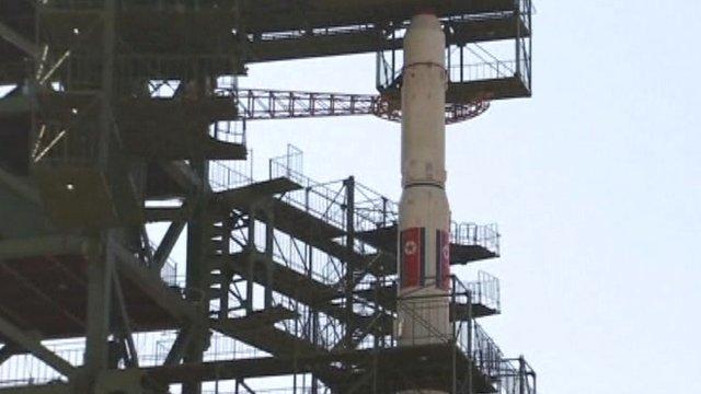North Korea's long-range rocket