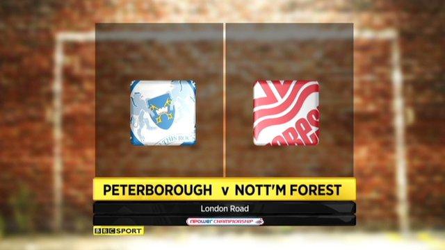 Highlights - Peterborough 0-1 Nottingham Forest