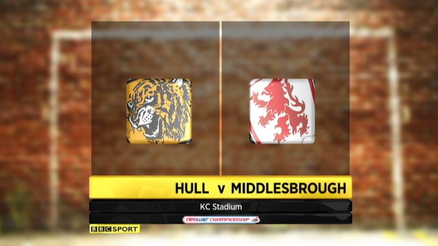 Highlights - Hull 2-1 Middlesbrough