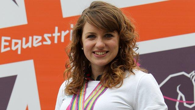 Para-dressage 2012 hopeful Natasha Baker