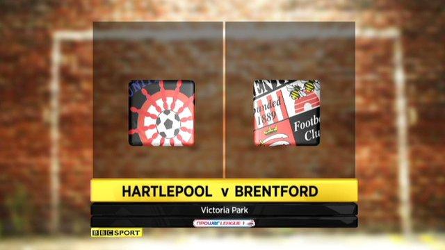 Highlights - Hartlepool 0-0 Brentford