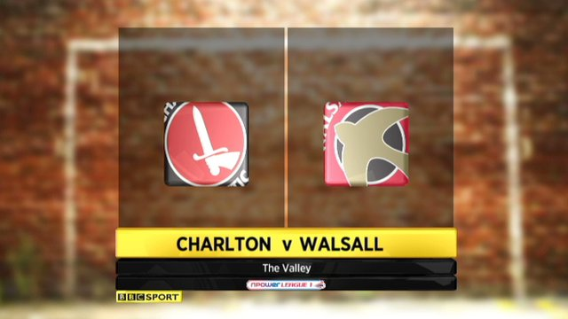 Highlights - Charlton 1-0 Walsall