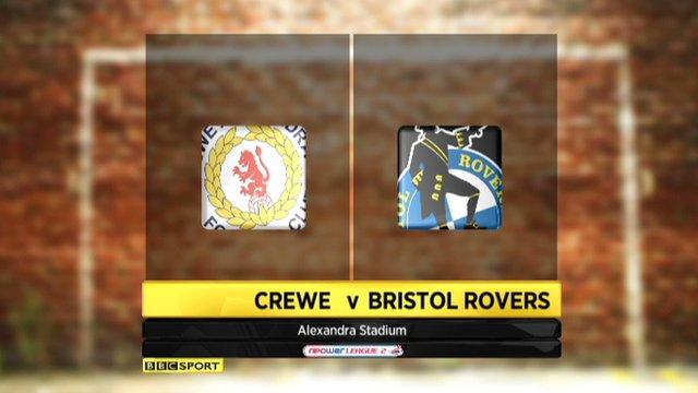 Highlights - Crewe 3-0 Bristol Rovers