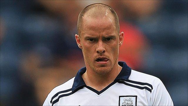Preston North End striker Iain Hume