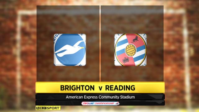 Brighton 0-1 Reading