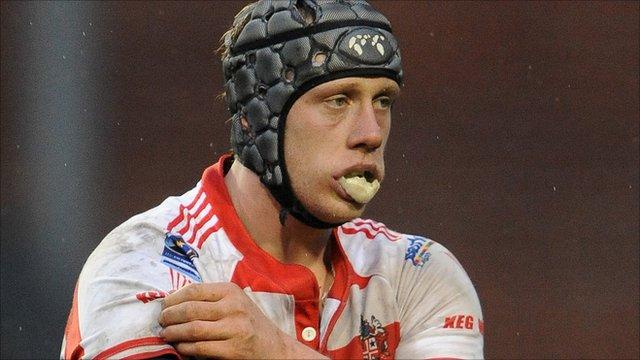 Warrington Wolves prop Chris Hill