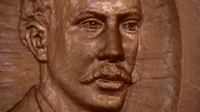 Bronze image of John Harper