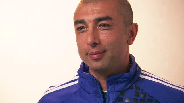 Chelsea caretaker boss Roberto di Matteo