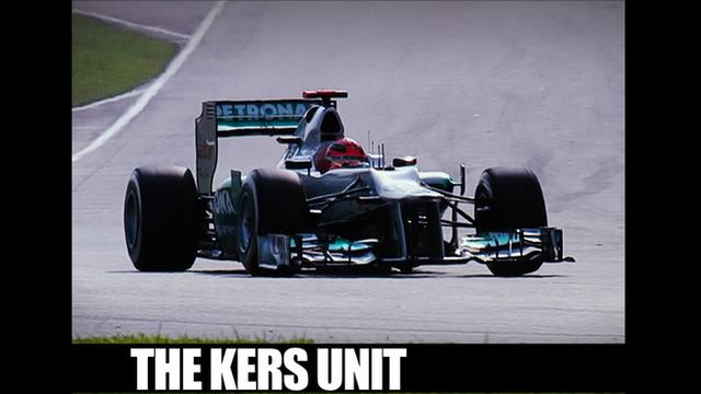 Michael Schumacher's Mercedes