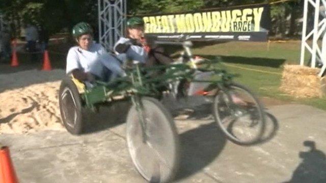 Moonbuggy racing
