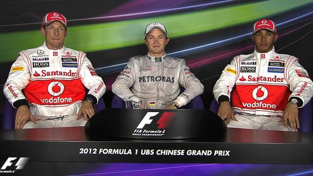 Chinese Grand Prix: top three drivers