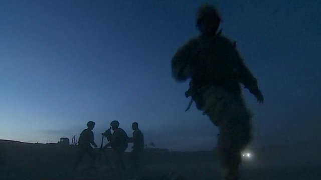 US soldiers in Kabul