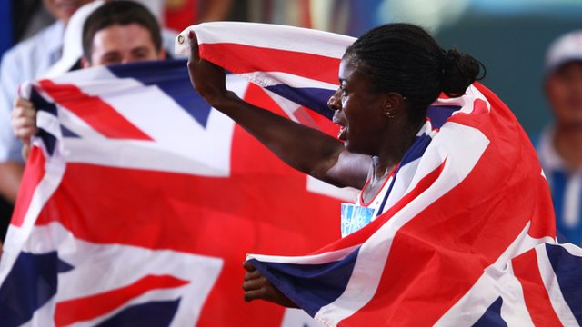 2008 Beijing Olympic 400m winner Christine Ohurougu