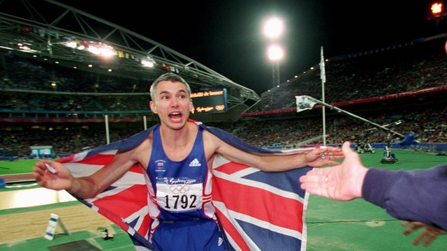 2000 Sydney Olympics triple-jump winner Jonathan Edwards