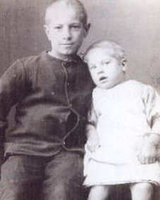 Frederick aged 9 and George aged 3