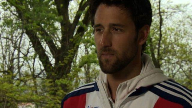 British rower Tom James