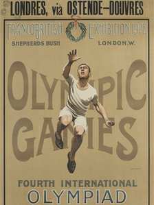 Olympic Games poster from 1908