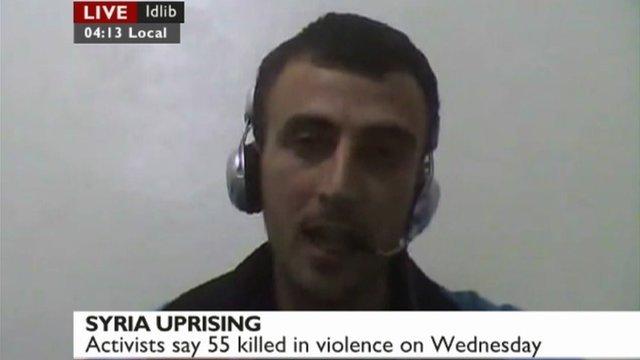 Ahmad in Idlib, Syria