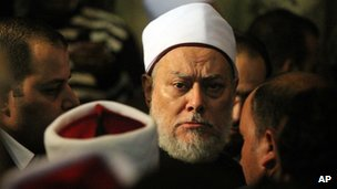 Grand Mufti Ali Gomaa in Cairo, 17 December 2011