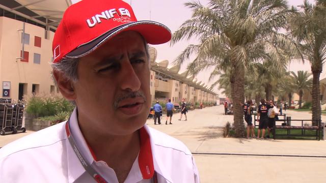Bahrain International Circuit chairman Zayed R Alzayani