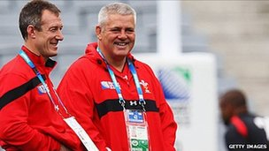 Rob Howley a Warren Gatland