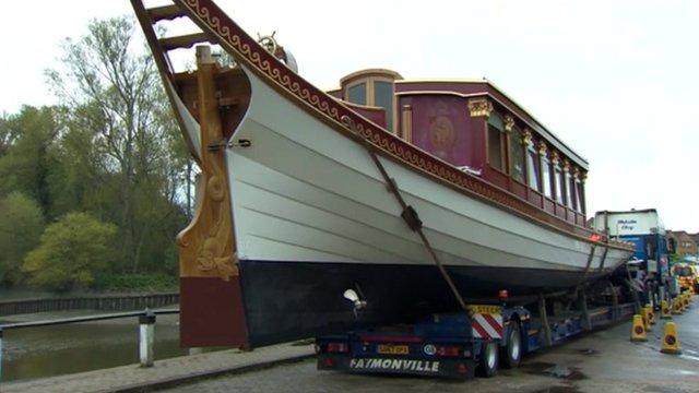 Royal barge, Gloriana