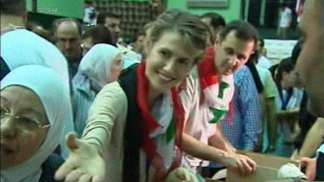 Assads 'packing aid'