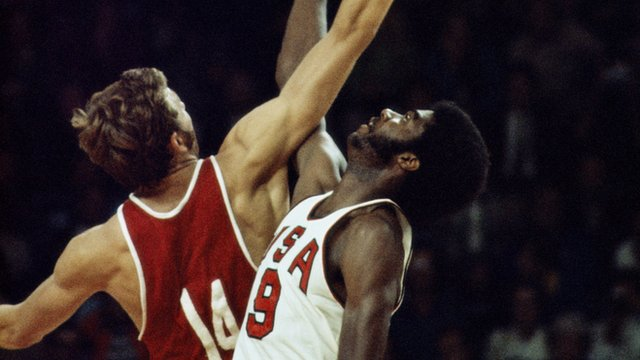 USSR beat USA in 1972 Olympic basketball final
