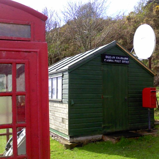 Canna post office