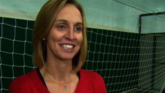 Arsenal defender Faye White