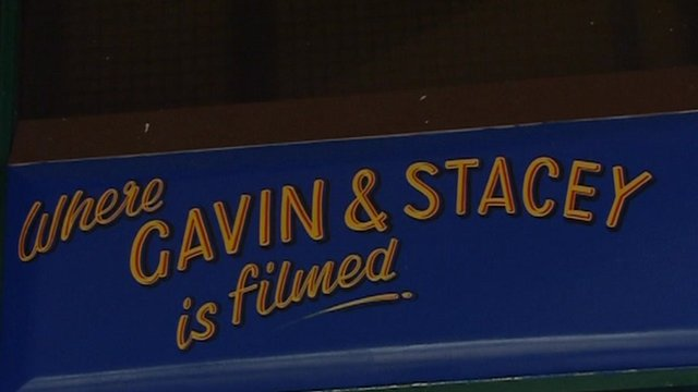 Gavin and Stacey sign