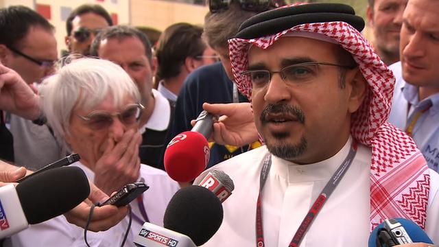 Bahrain crown prince Salman bin Hamad Al Khalifa
