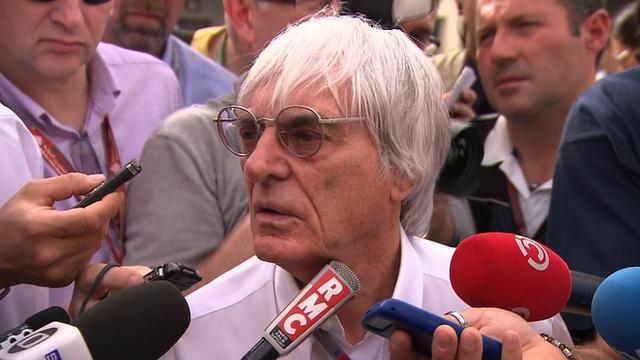 Formula 1 supremo Bernie Ecclestone