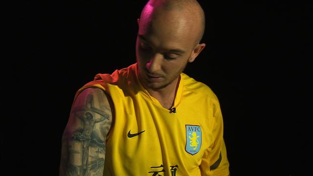 Aston Villa's Stephen Ireland talks tattoos