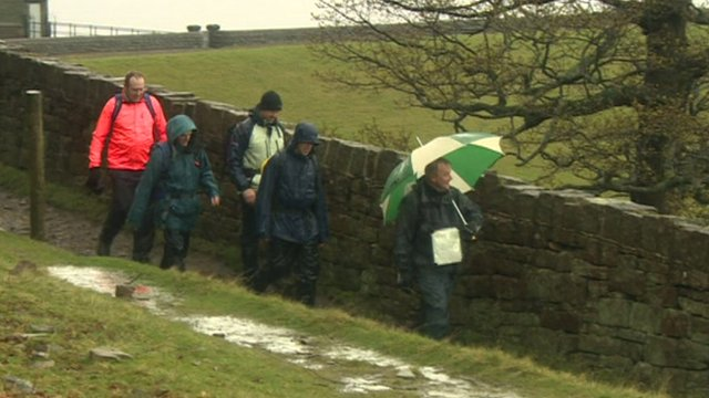 Ramblers on Kinder Scout