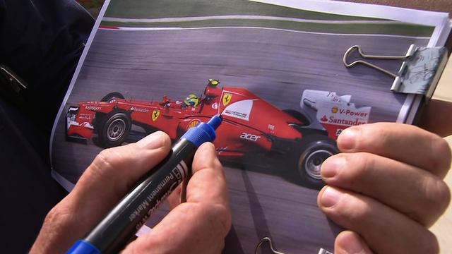 Gary Anderson on Ferrari