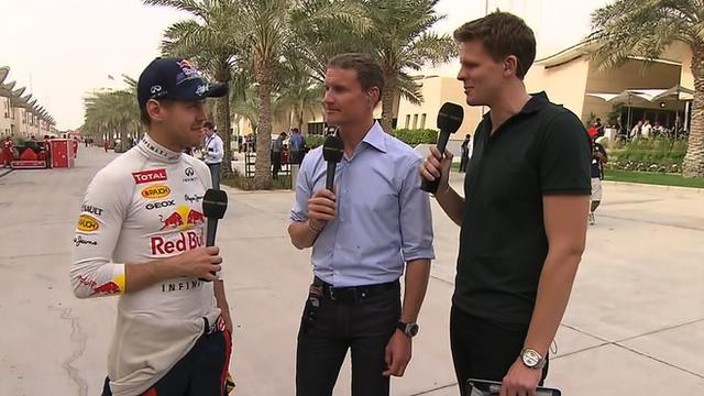 Sebastian Vettel after Bahrain Grand Prix qualifying