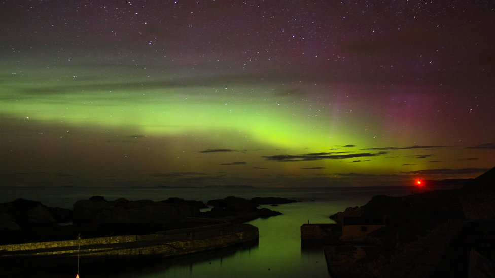 Bbc News In Pictures The Aurora Borealis Over Northern