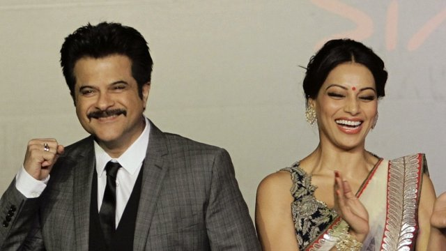 Bollywood actors Anil Kapoor and Bipasha Basu