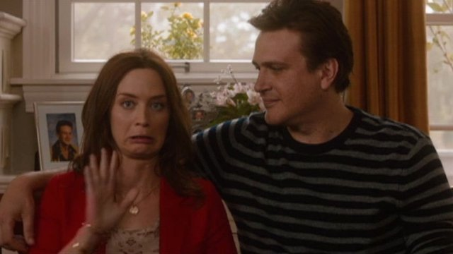 Emily Blunt and Jason Segel