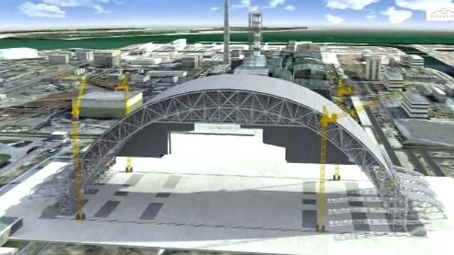 Graphic showing the new construction