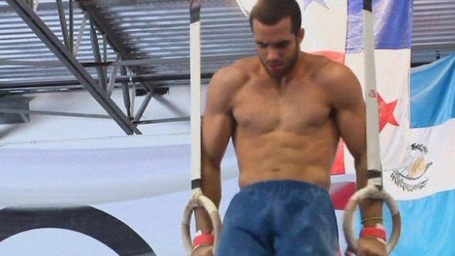 USA gymnast