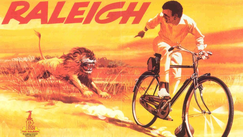 BBC News - In pictures: Raleigh bicycle posters