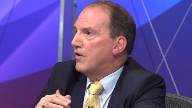 Simon Hughes on the BBC's Question Time