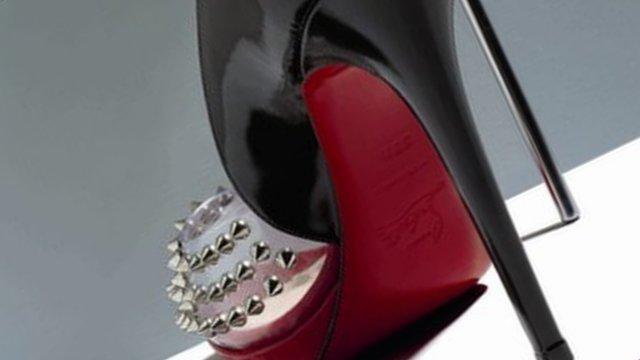 A Christian Louboutin shoe