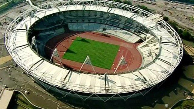 London 2012 Olympics site, Stratford, London
